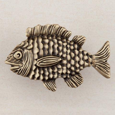 Fun Fish Gold Knob