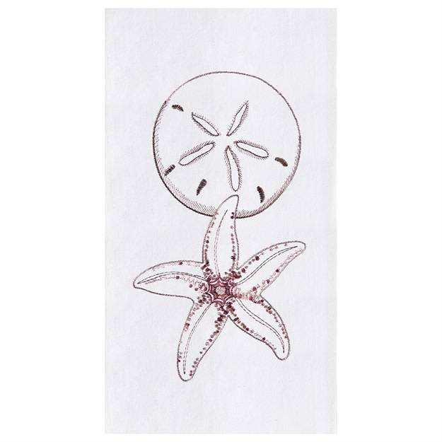 Kitchen Towel Starfish & Sand Dollar