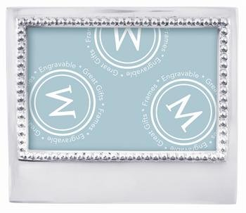 Personalize It Beaded Frame 4x6