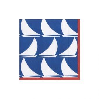 Cocktail Napkin Sail Away Navy