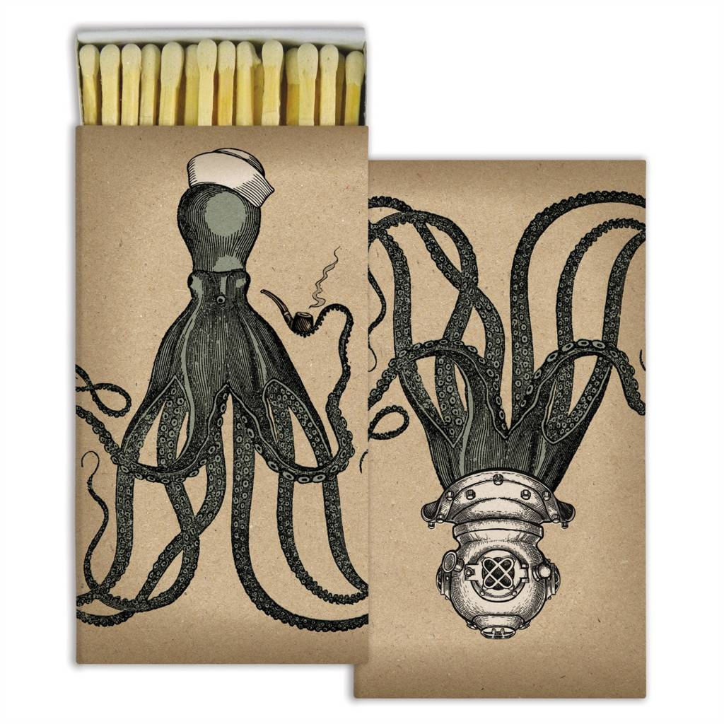 Matches Octopus White