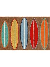 Surfboard Brown Frontporch 24x36