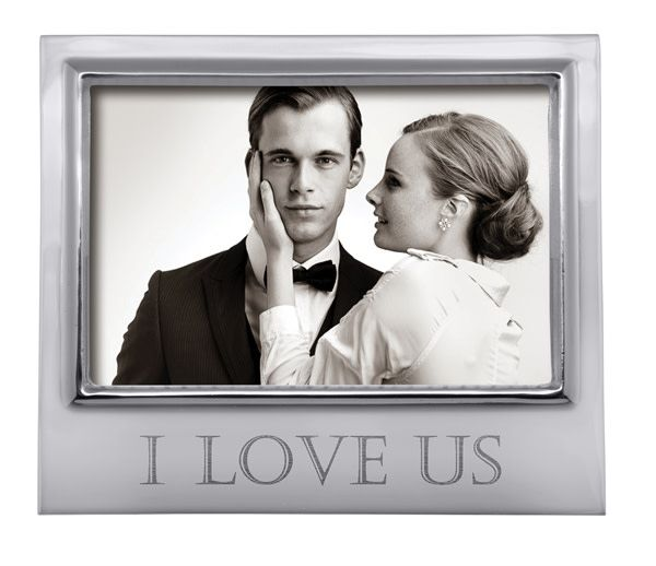 I LOVE US Signature 4x6 Frame