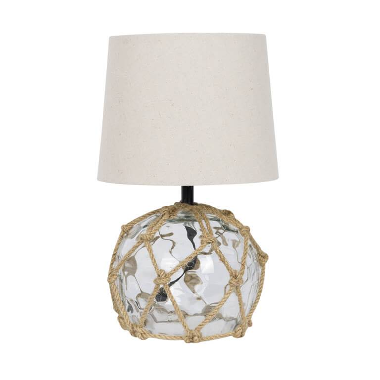 Transparent Glass Buoy Lamp 15x30cm