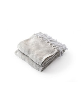 Monhegan Throw White Oyster