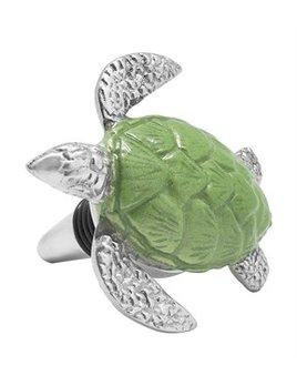 Green Turtle Bottle Stopper