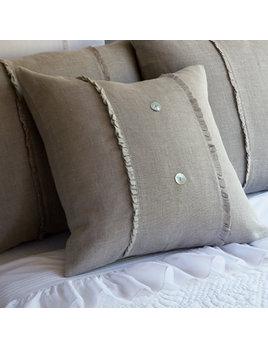 Hampton Natural Porch Pillow 20x20