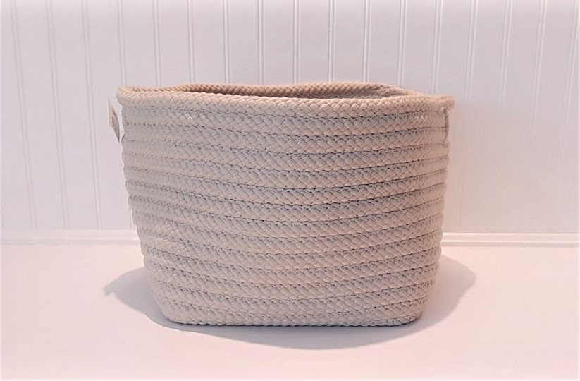 Colonial Mills 12x12x10 White Basket