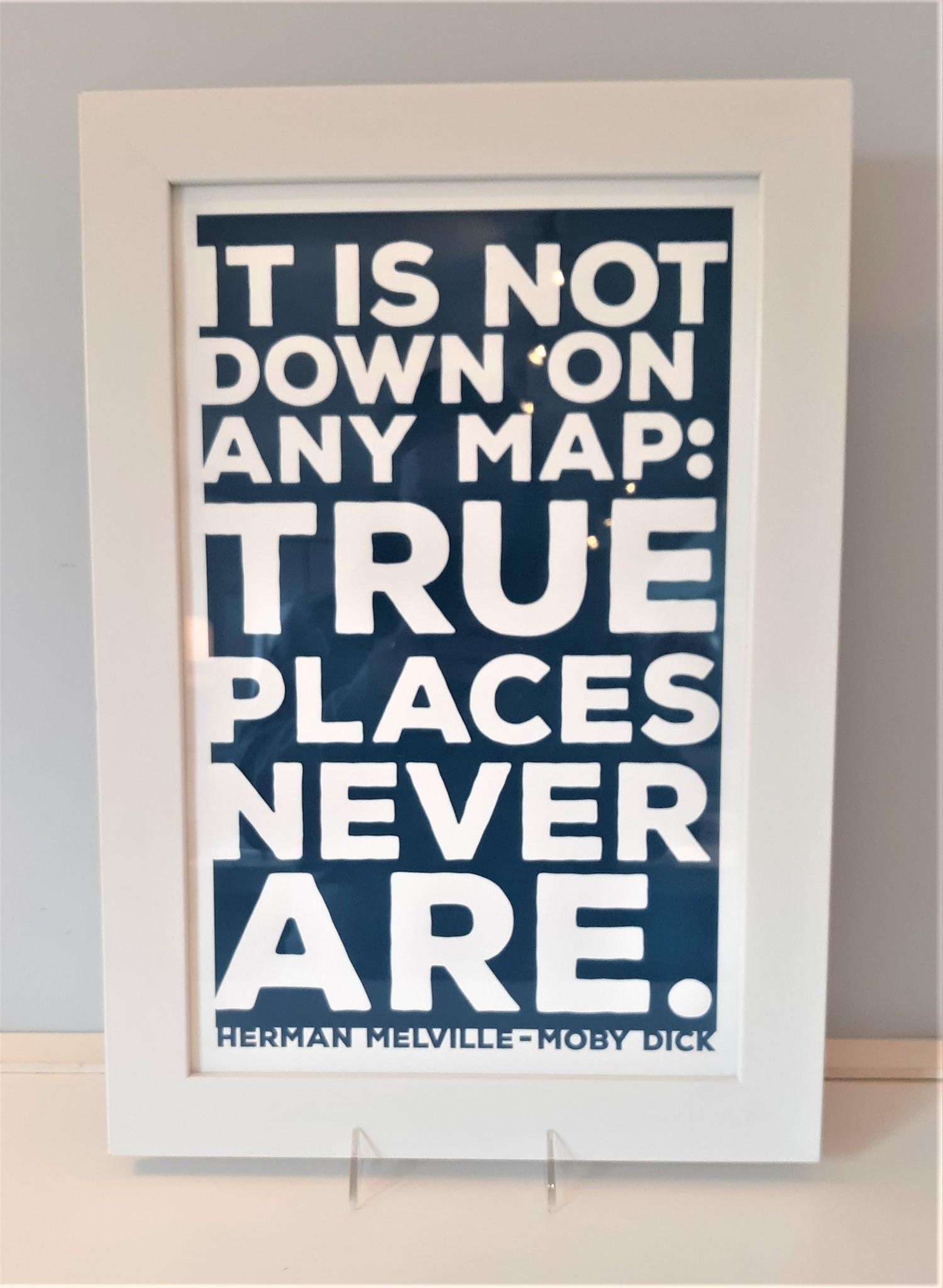 Herman Melville Quote 11x17