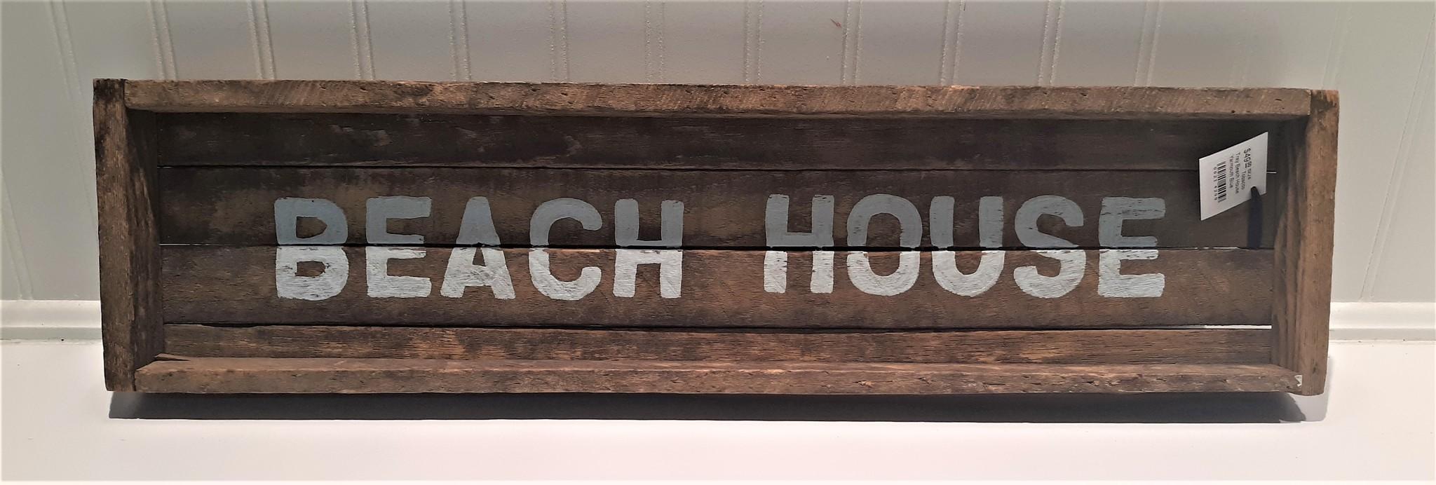 6x24 Tobacco Tray Beach House Yarmouth Blue
