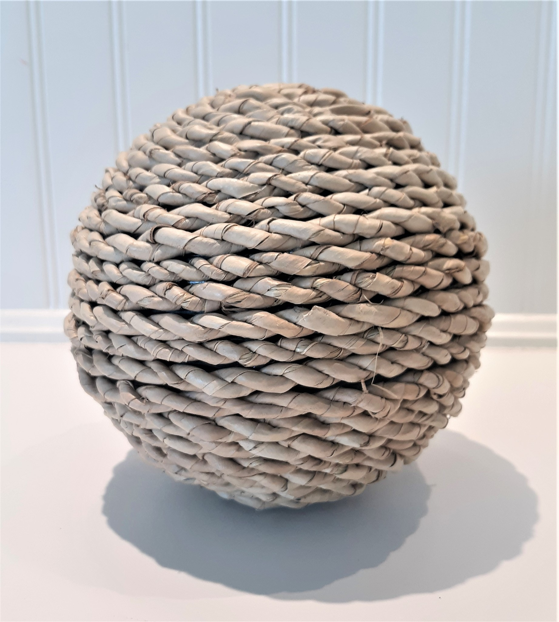 Large Twisted Rope Ball Circular Weave 6