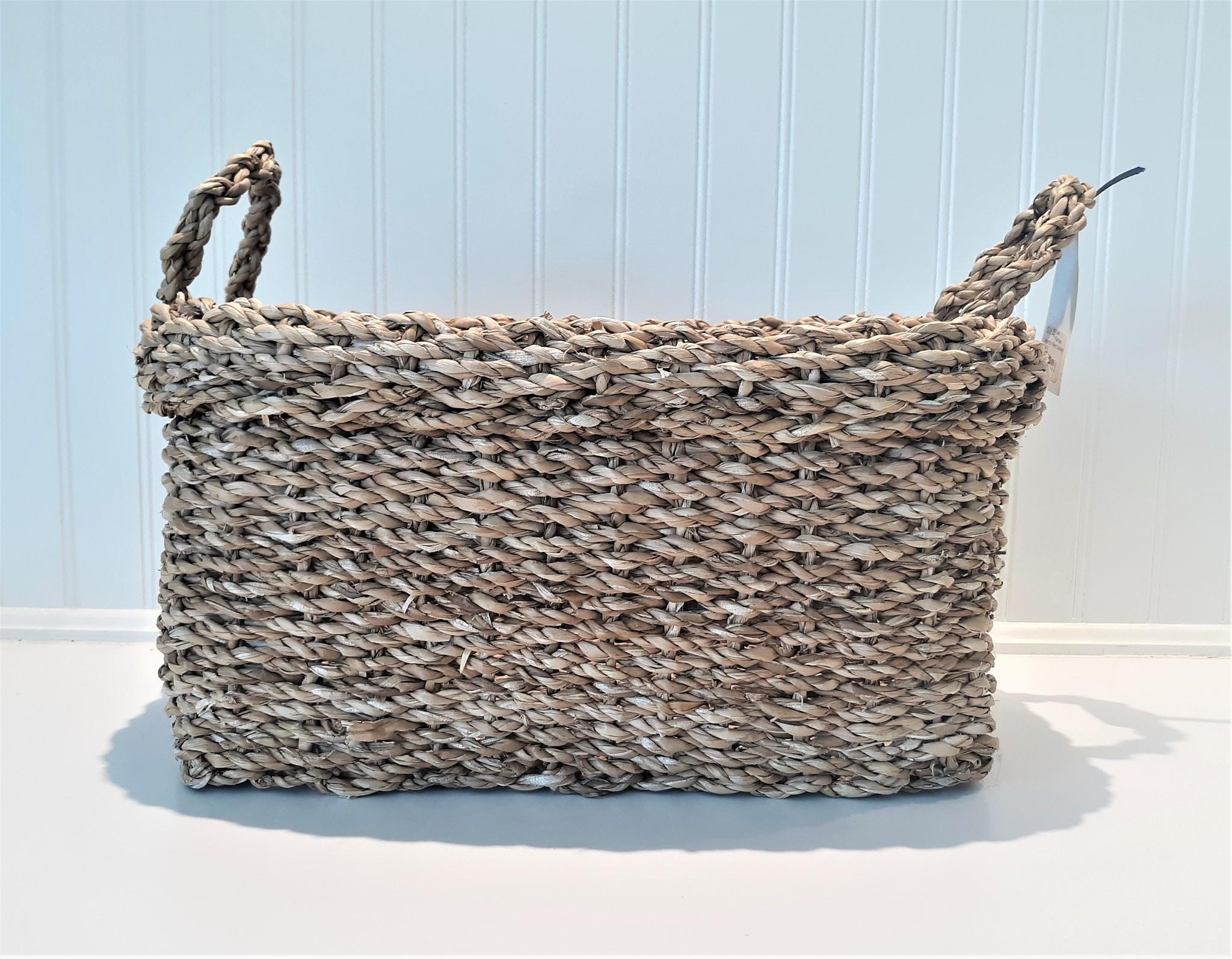 Las Palmas Laundry Rect Basket Small