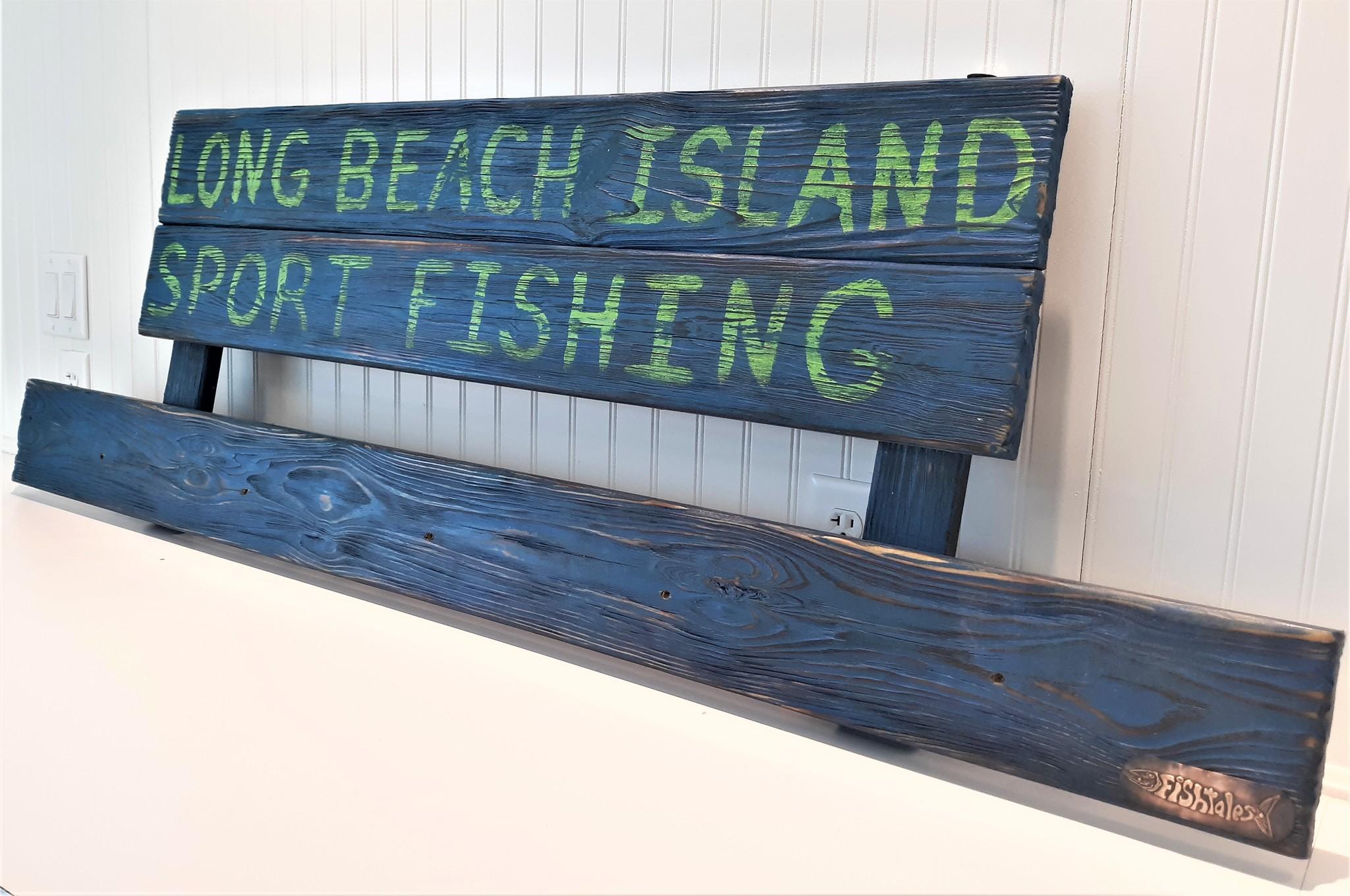 Long Beach Island Sport Fishing Sign