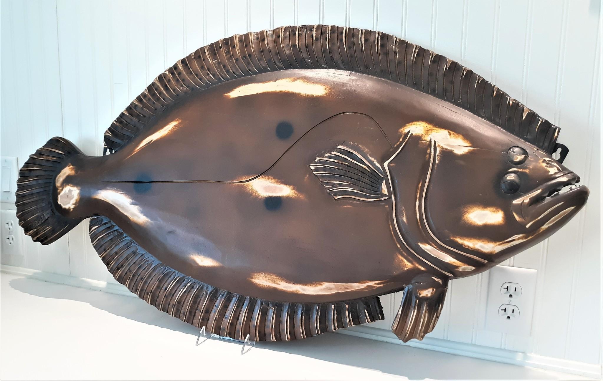 Wooden Flounder