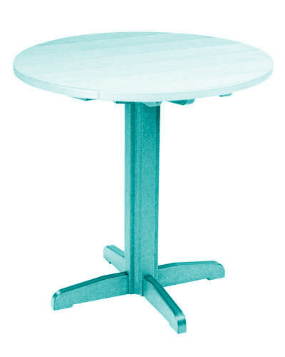 """40"""" Round Pub Table with Pedestal Base"""