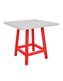 """40"""" Square Counter Table"""