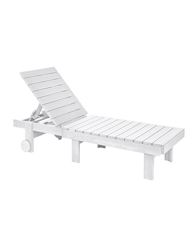 Generation Line Chaise Lounge with Wheels
