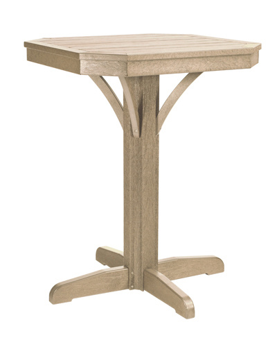 """St. Tropez 28"""" Square Counter Table"""