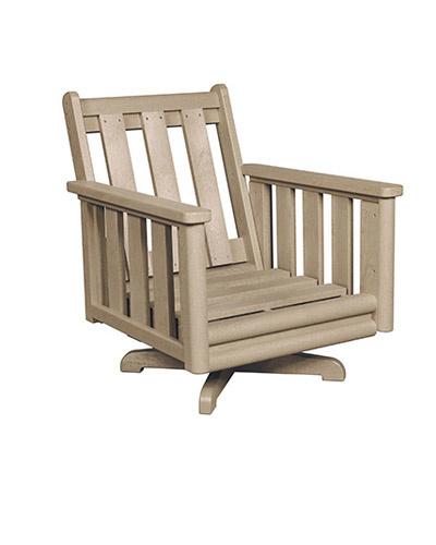 Stratford Swivel Arm Chair