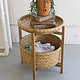 Bamboo Baskets with Wooden Stand