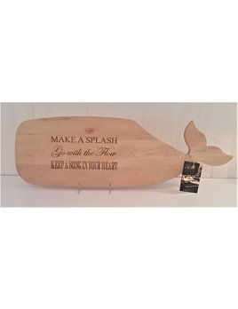 Advice From a Whale Cutting Board