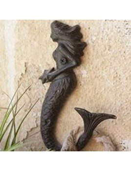 Cast Iron Mermaid Hook