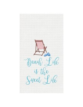 Kitchen Towel Beach Life Sweet Life