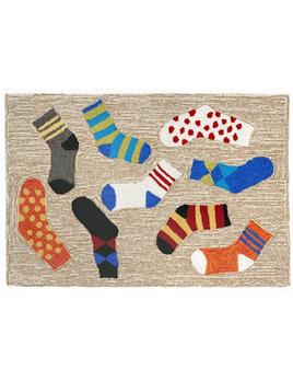 Lost Socks Multi 24x36