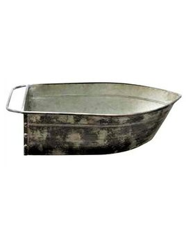 Metal Boat Shaped Large