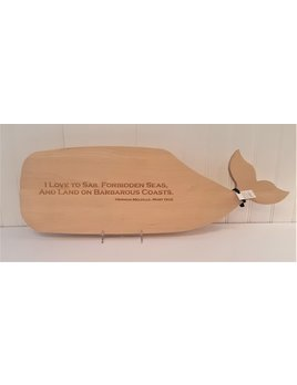 Moby Dick Whale Cutting Board Sail Forbidden Seas