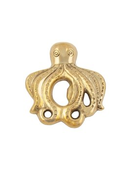 Octopus Bottle Opener Gold