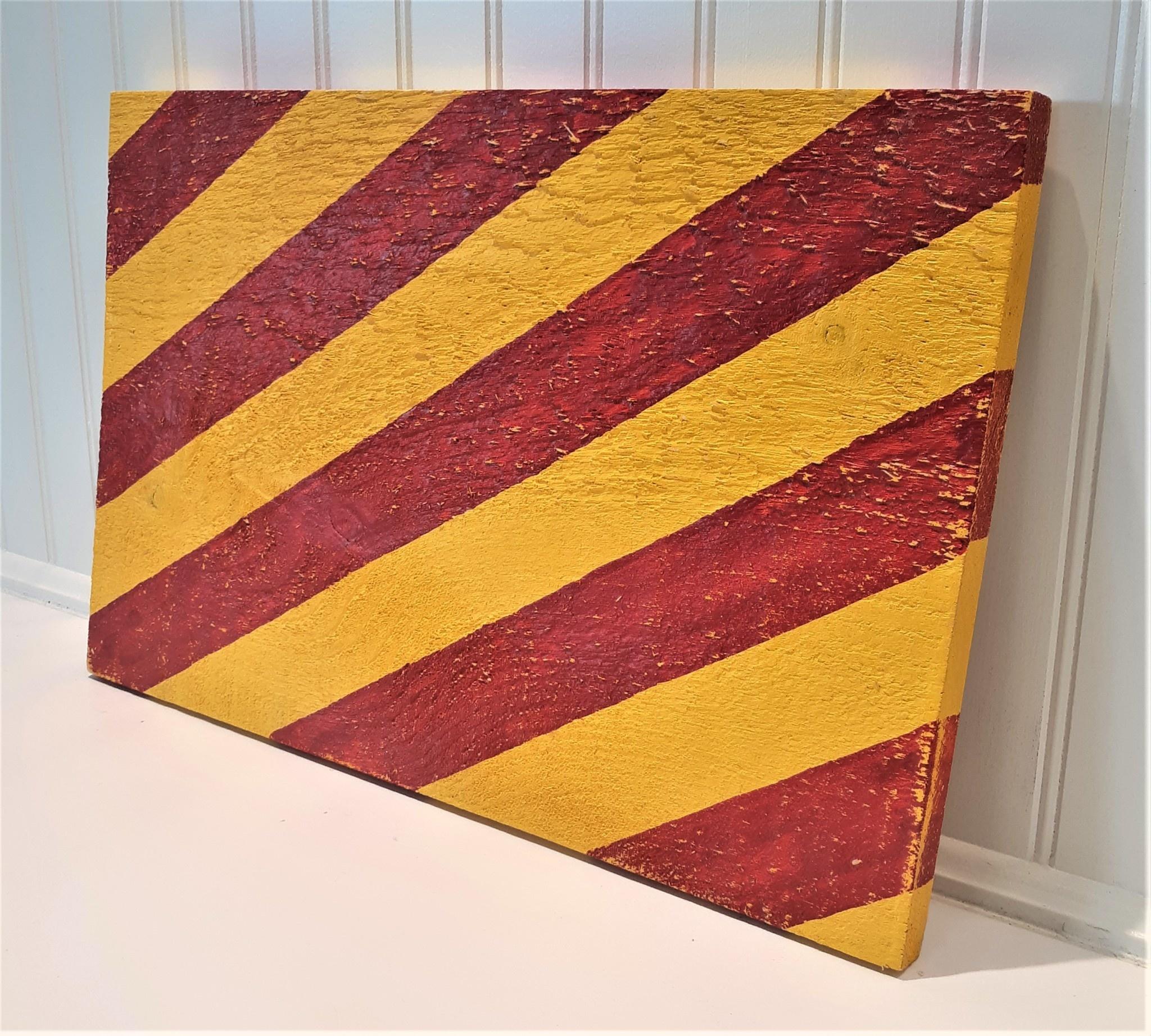 Signal Flag Letter Y 12x18