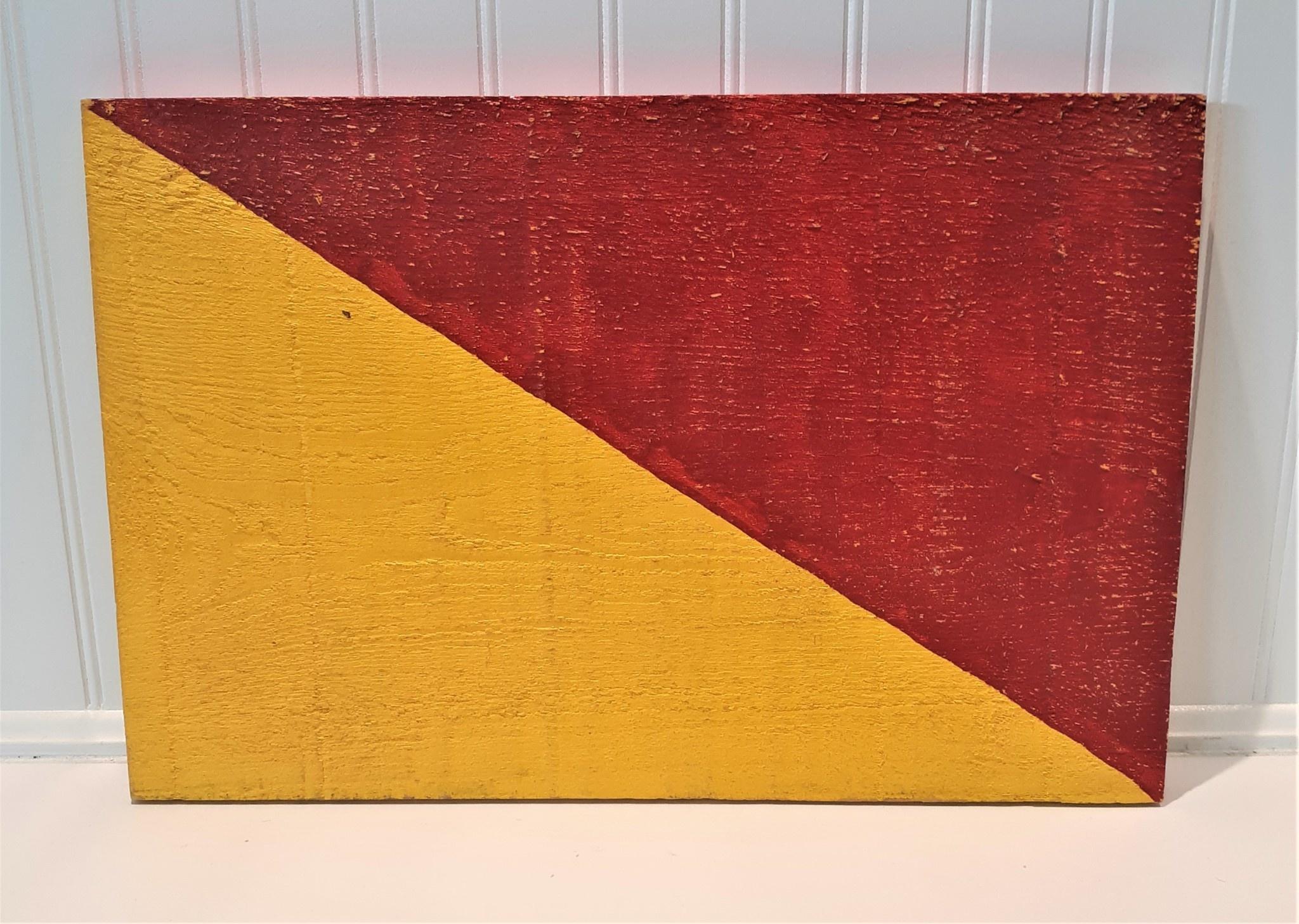 Signal Flag Letter O 12x18