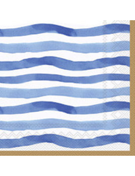 Wavy Stripe Cocktail Napkins