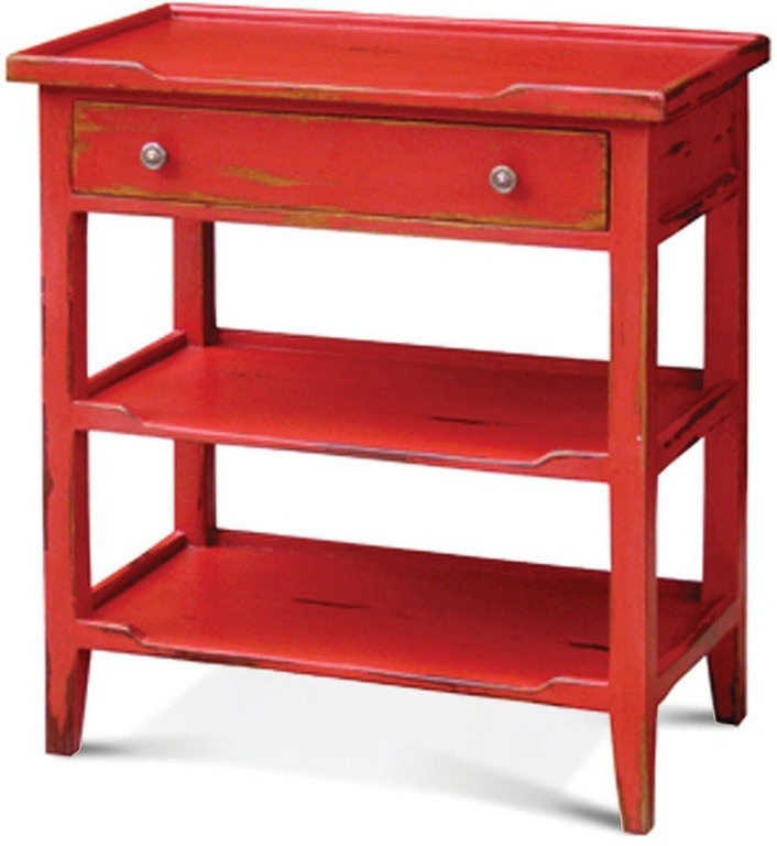 Eton 1 Drawer Side Table Aries Collection
