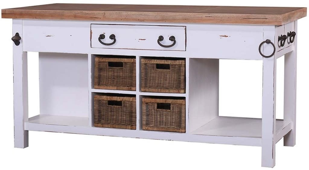 Umbria Kitchen Island Large Aries Collection