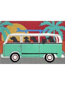 Beach Trip Turquoise 24x36