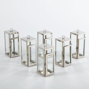 Mini Bungalow Lantern Steel