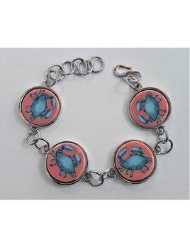Crab Chain Bracelet