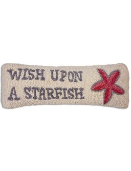 Wish Upon a Starfish 8x24 Hooked Pillow