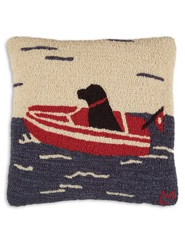 Seadog 18x18 Hooked Pillow