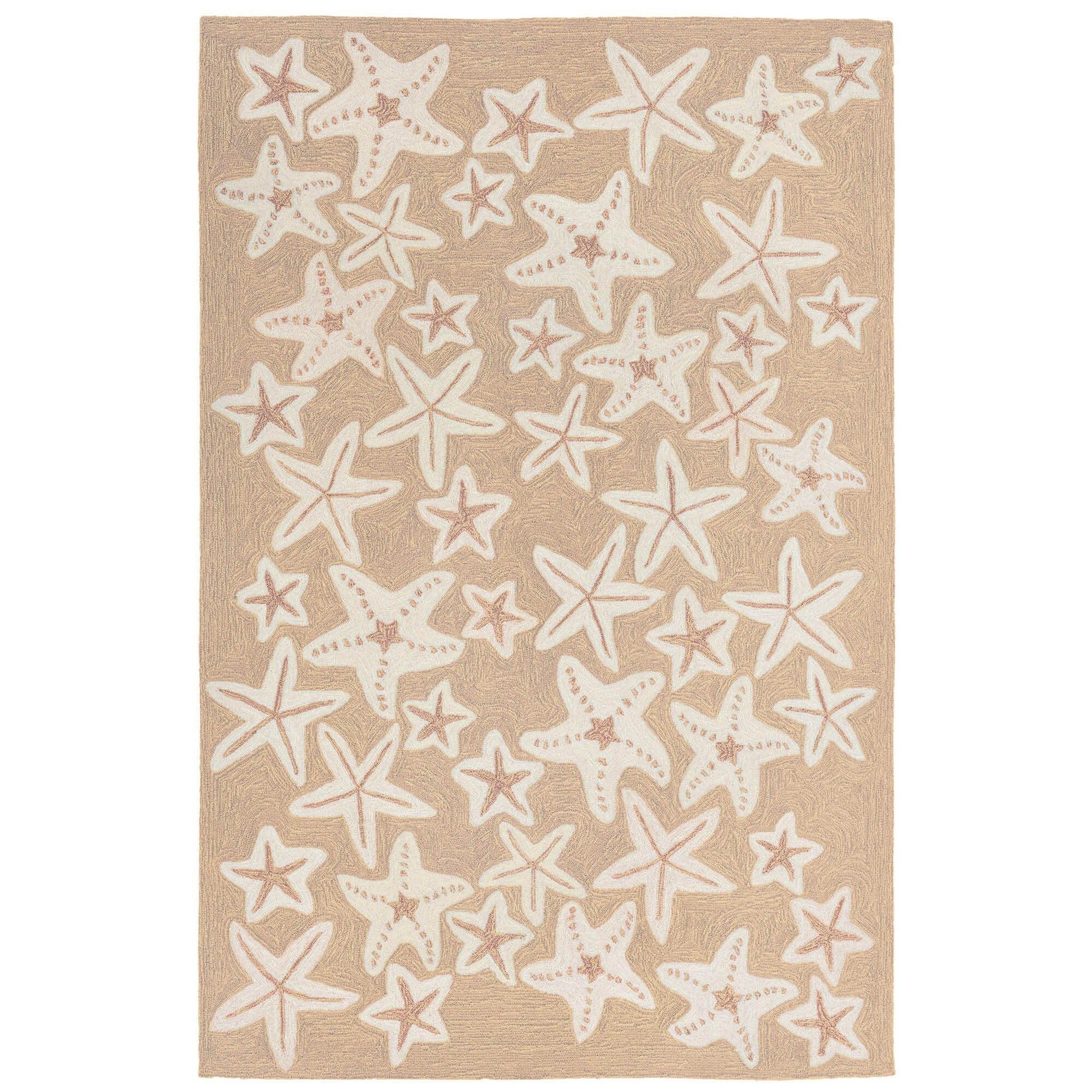 Starfish Neutral Capri Rug 24x36