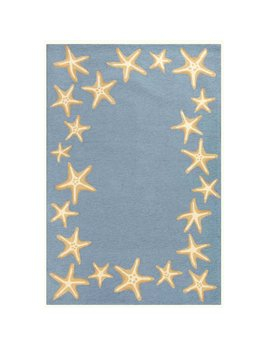 Bluewater Starfish Border 24x36