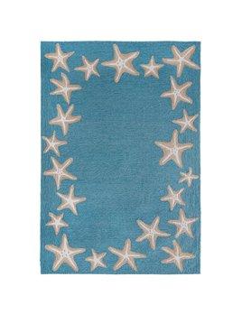 Aqua Starfish Border 24x36