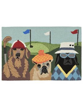 Putts and Mutts Multi Rug 24x36