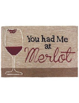 You Had Me at Merlot Rug 24x36
