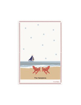 Sail on By 18x26 Cotton Towel
