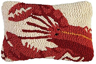 Red Lobster 8x12 Hooked Pillow