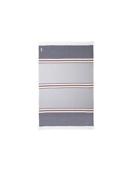 Allagash Throw Navy, Claret, Dove Gray