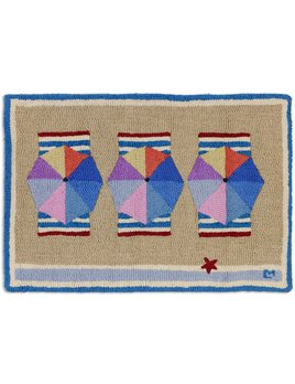 Beach Club 2x3 Hooked Rug